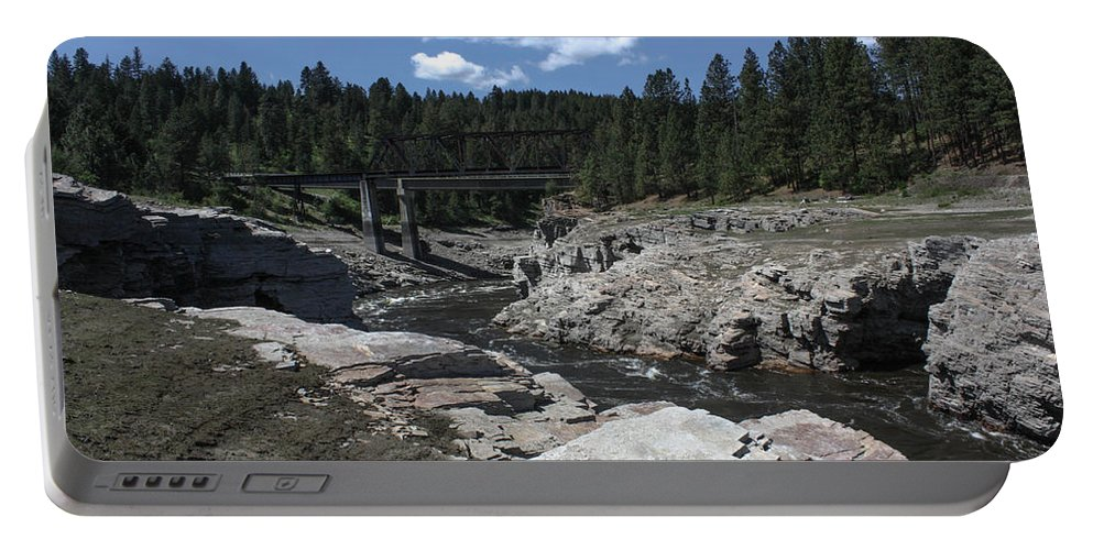 River Portable Battery Charger featuring the photograph Kettle River by Jacki Smoldon