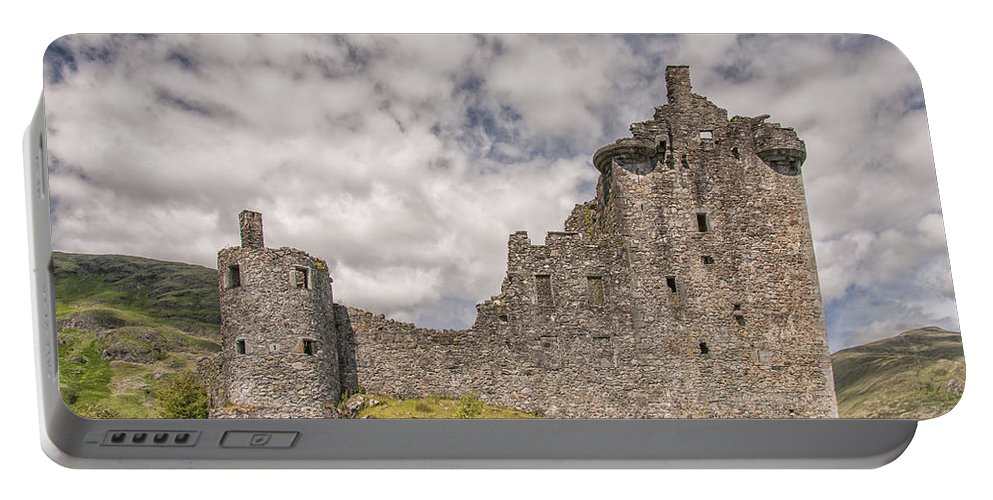 Scotland Portable Battery Charger featuring the photograph Kilchurn Castle 02 by Antony McAulay
