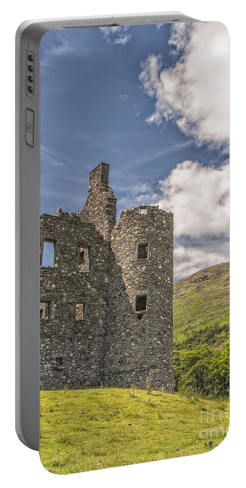 Scotland Portable Battery Charger featuring the photograph Kilchurn Castle 03 by Antony McAulay