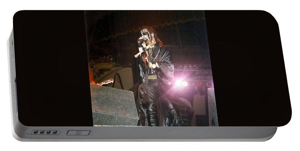 King Diamond Portable Battery Charger featuring the photograph King Diamond by Sheryl Chapman Photography
