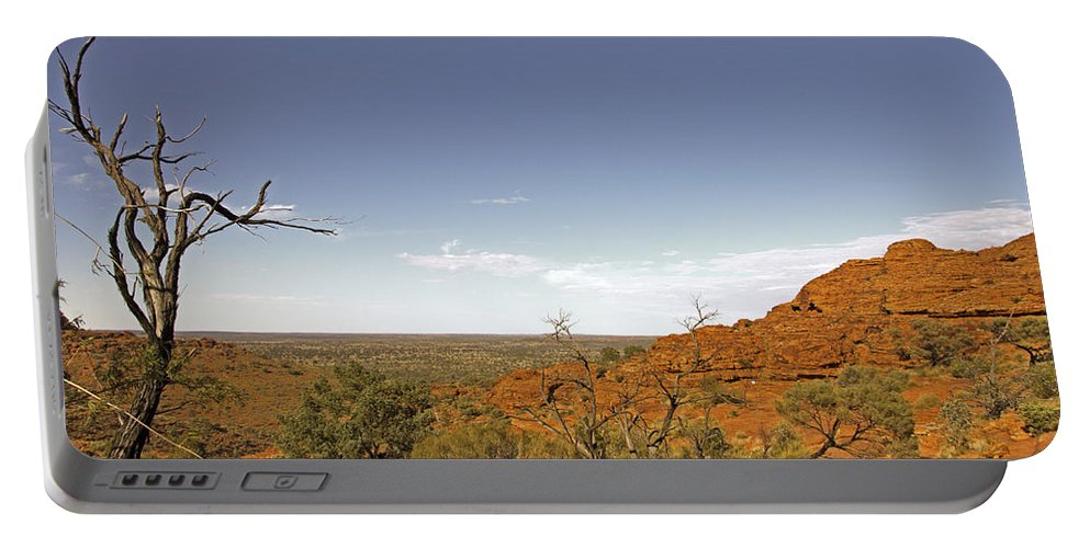 Kings Canyon Portable Battery Charger featuring the photograph Kings Canyon-the Rim by Douglas Barnard