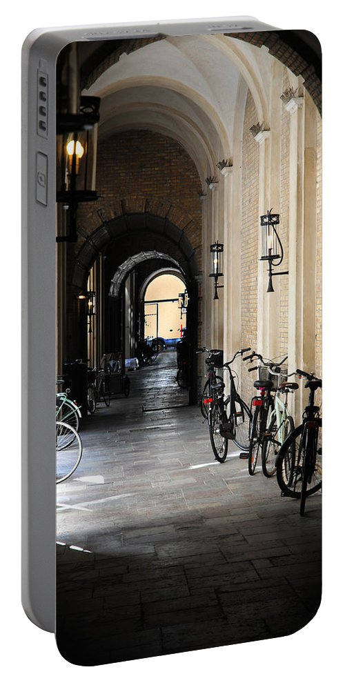 Copenhagen Portable Battery Charger featuring the photograph Kopenhavn Denmark 01 by Jeff Brunton