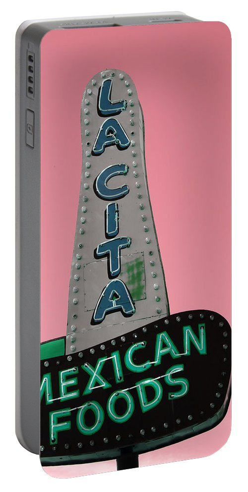 La Cita Portable Battery Charger featuring the photograph La Cita by Lynn Sprowl