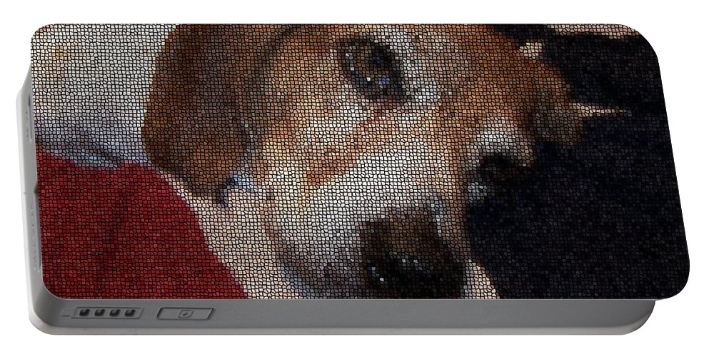 Dog Portable Battery Charger featuring the photograph Lady 8 by April Patterson