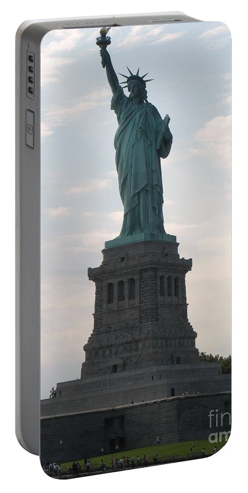 Statue Of Liberty Portable Battery Charger featuring the photograph Lady Liberty by Luther Fine Art