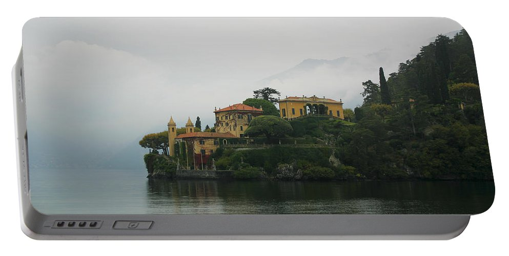 Italy Portable Battery Charger featuring the photograph Lake Como No. 1 by Belinda Greb