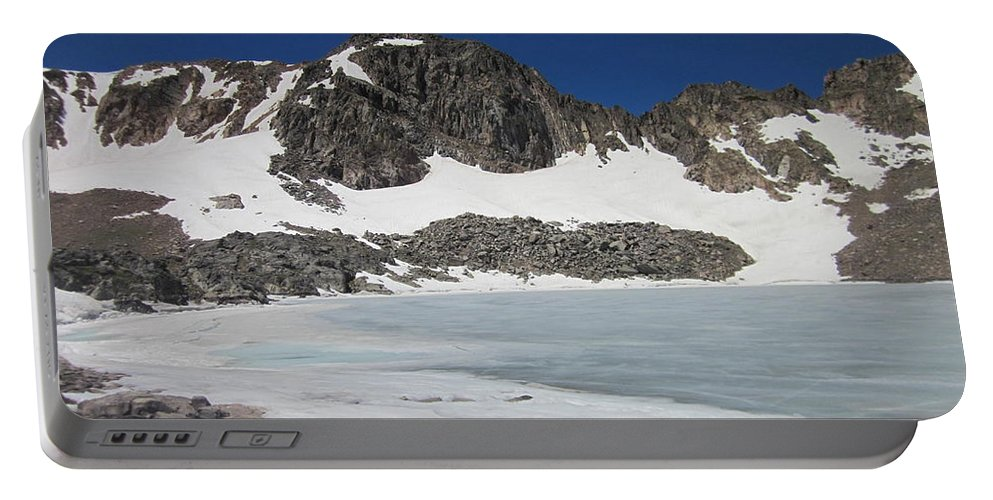 Lake Dorothy Portable Battery Charger featuring the photograph Lake Dorothy by Tonya Hance