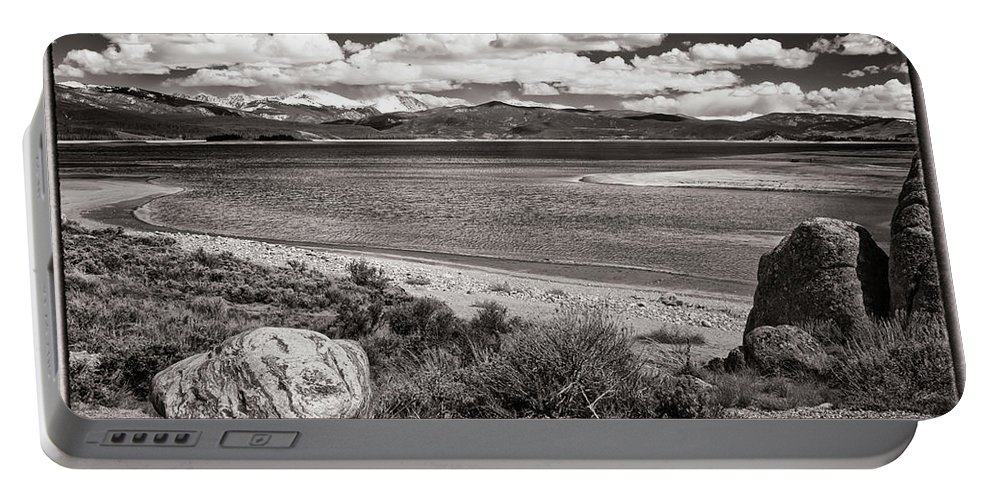 Granby Portable Battery Charger featuring the photograph Lake Granby by Joan Carroll