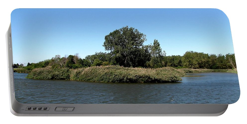 Lake Kirsty Portable Battery Charger featuring the photograph Lake Kirsty At Tifft Nature Preserve Buffalo New York by Rose Santuci-Sofranko