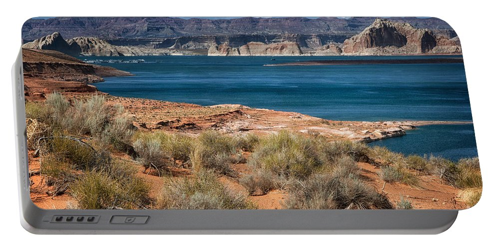 Lake Powell Portable Battery Charger featuring the photograph Lake Powell by Claudia Kuhn