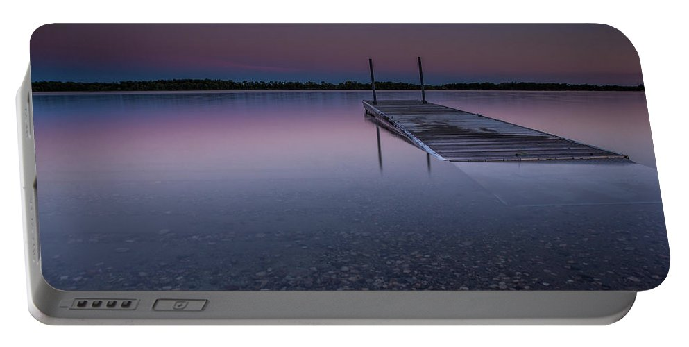 Lee Filters Portable Battery Charger featuring the photograph Lake Shaokatan by Aaron J Groen