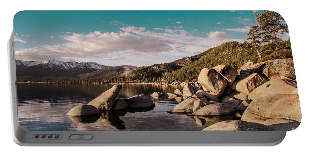 Lake Tahoe Portable Battery Charger featuring the photograph Lake Tahoe by D White