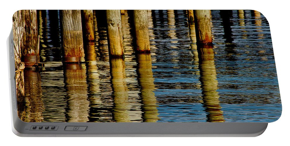 Lake Tahoe Portable Battery Charger featuring the photograph Lake Tahoe Reflection by Bill Gallagher