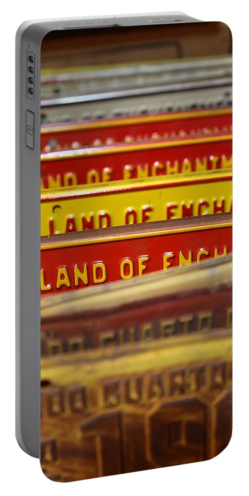 Land Of Enchantment Portable Battery Charger featuring the photograph Land Of Enchantment by Lynn Sprowl