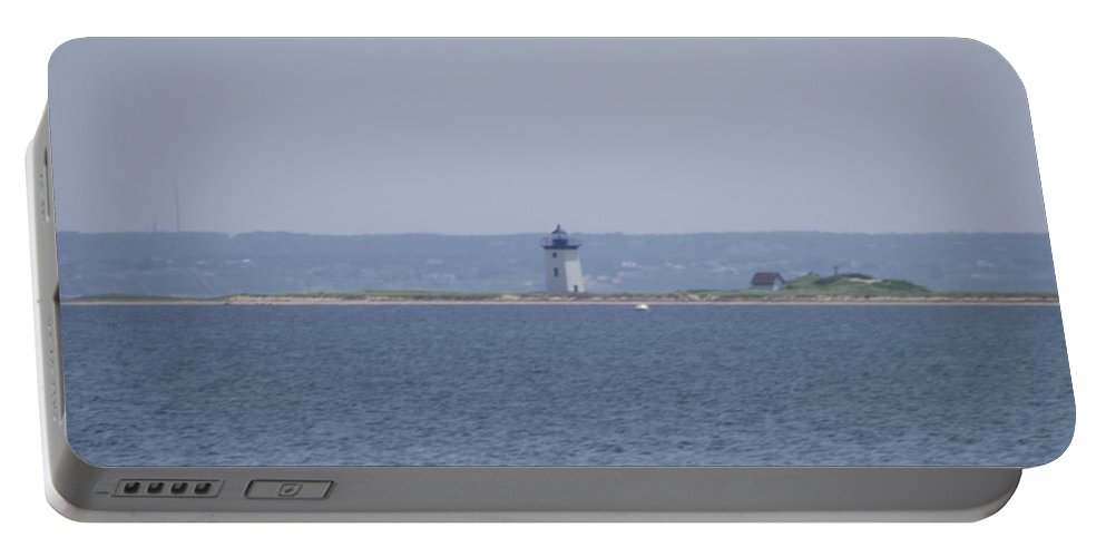 Provincetown Portable Battery Charger featuring the photograph Land's End by Michelle Welles