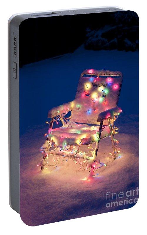 Portable Christmas Lights.Lawn Chair With Christmas Lights Portable Battery Charger