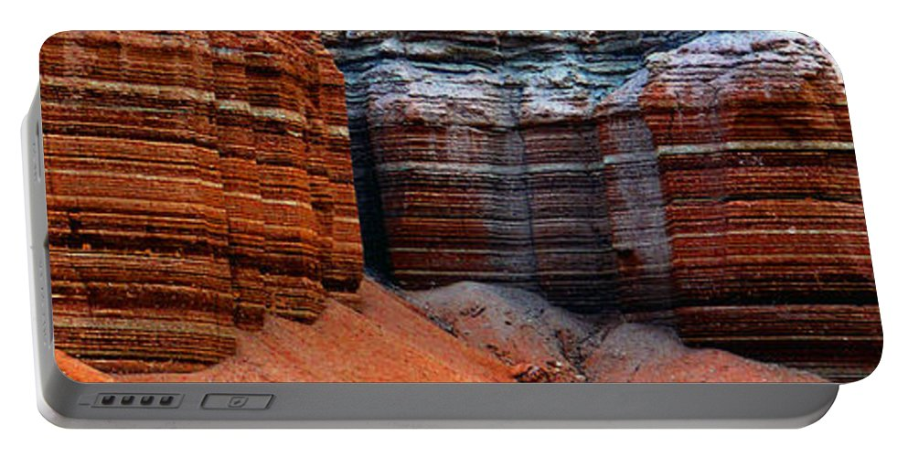 Landscape Portable Battery Charger featuring the photograph Layers Of Time by David Lee Thompson