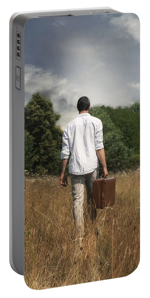 Man Portable Battery Charger featuring the photograph Leaving by Joana Kruse