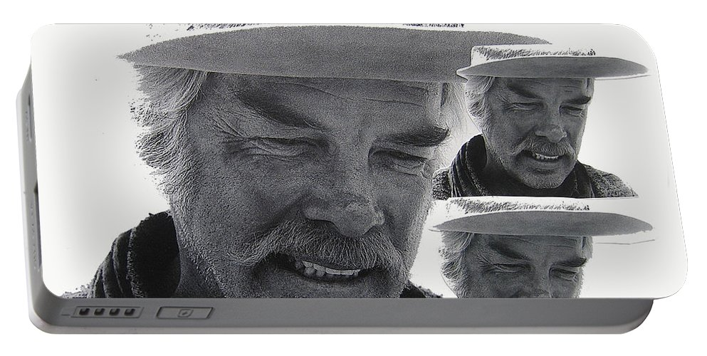 Lee Marvin Monte Walsh #1 Old Tucson Arizona 1969-2012  Portable Battery Charger featuring the photograph Lee Marvin Monte Walsh #1 Old Tucson Arizona 1969-2012  by David Lee Guss