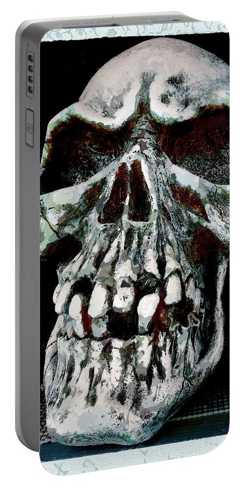 Rotten Portable Battery Charger featuring the photograph Left On The Shelf by Steve Taylor