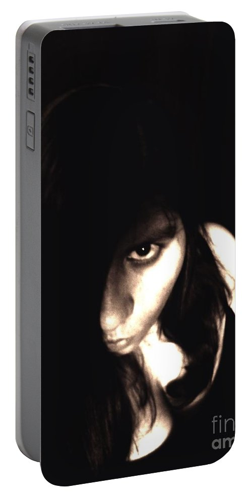 Self Portable Battery Charger featuring the photograph Let The Darkness Take Me by Vicki Spindler