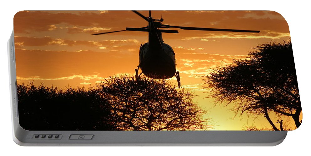 Eurocopter As350 B3 Portable Battery Charger featuring the photograph Lets Fly by Paul Job