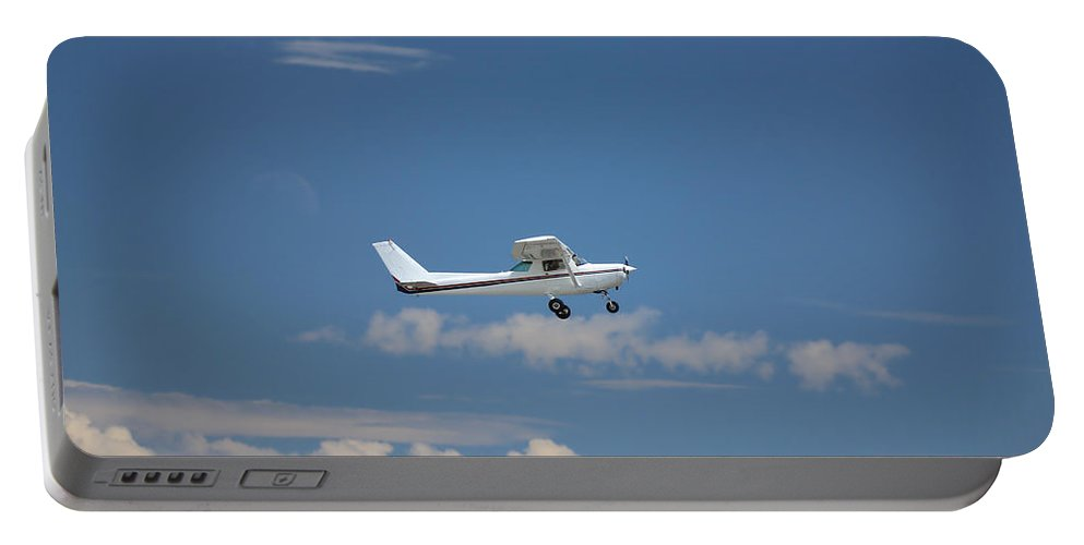 Outdoor Portable Battery Charger featuring the photograph Light Aircraft by Paul Fell