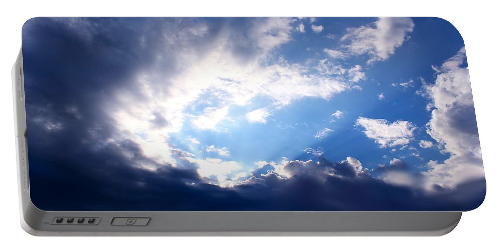 Light Portable Battery Charger featuring the photograph Light IIi by Kume Bryant