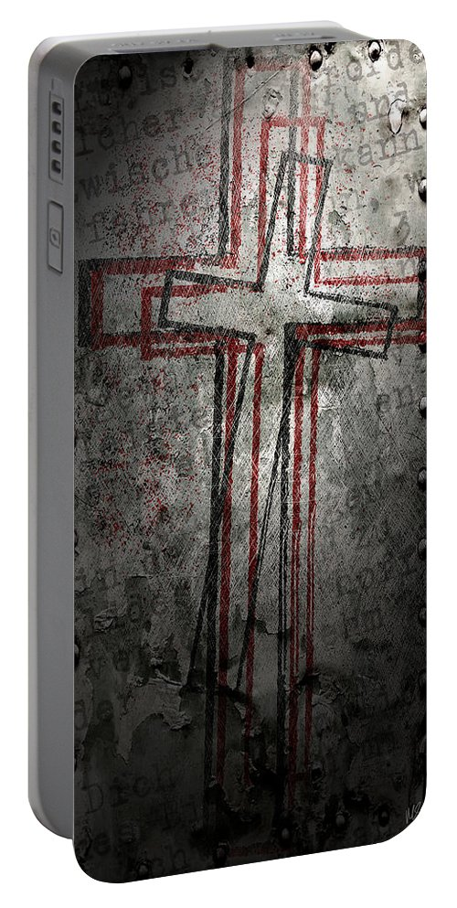 Faith Portable Battery Charger featuring the digital art Light Of Truth by Melissa Smith