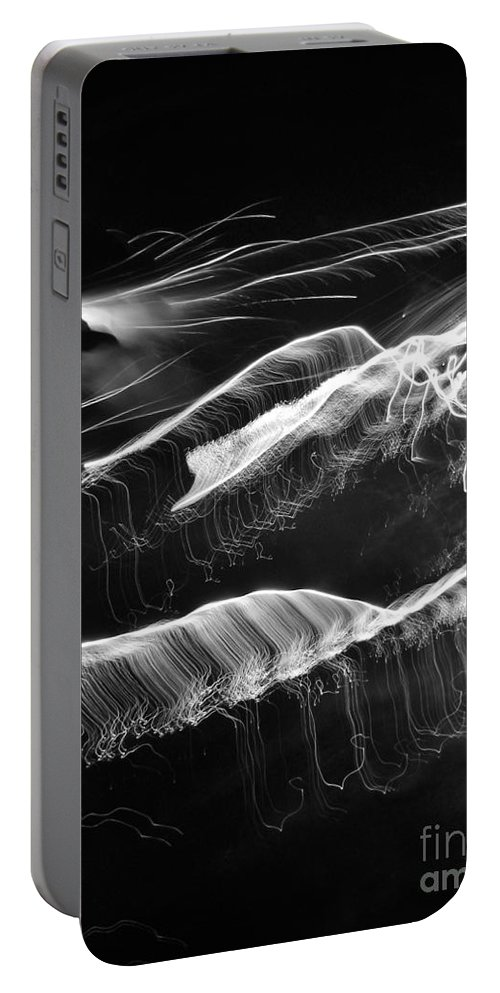 Kerisart Portable Battery Charger featuring the photograph Light Waves by Keri West