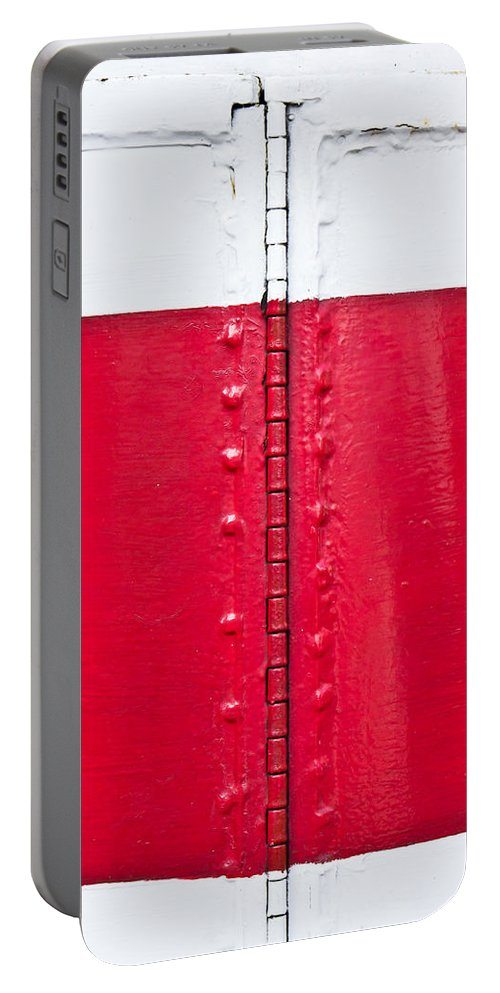 Architecture Portable Battery Charger featuring the photograph Lighthouse Architecture by Tom Gowanlock