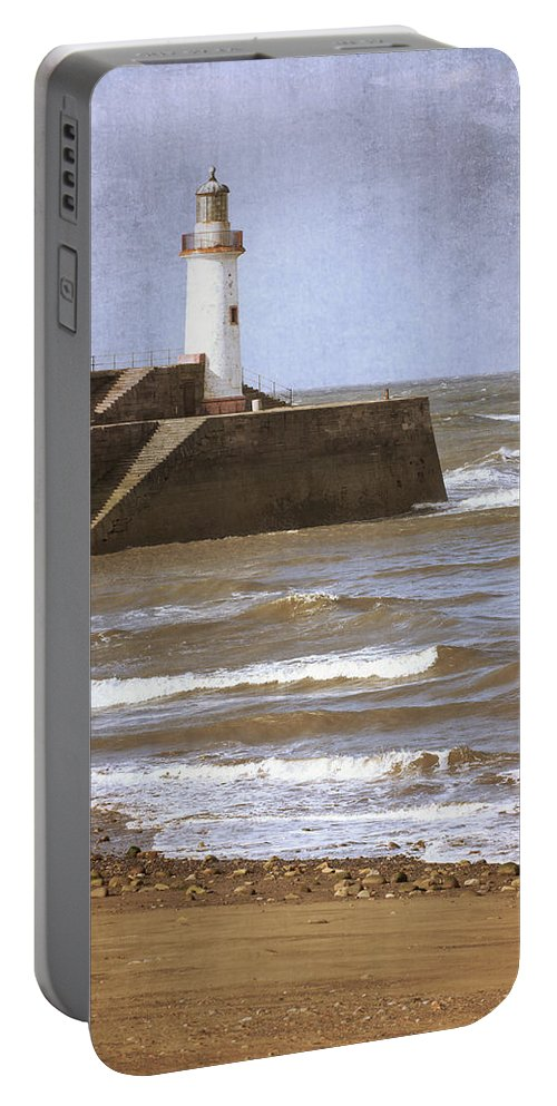Lighthouse Portable Battery Charger featuring the photograph Lighthouse by Amanda Elwell