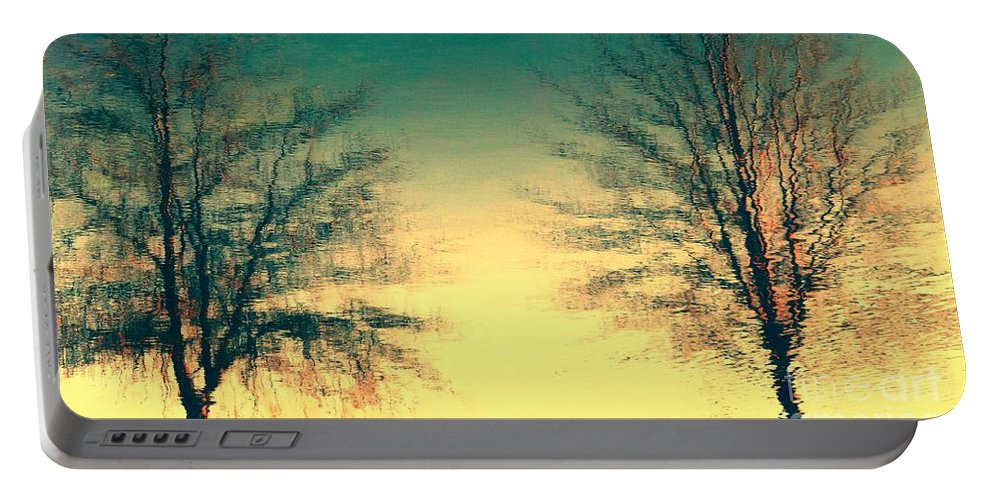 Trees Portable Battery Charger featuring the photograph Like Destiny by Heather Taylor