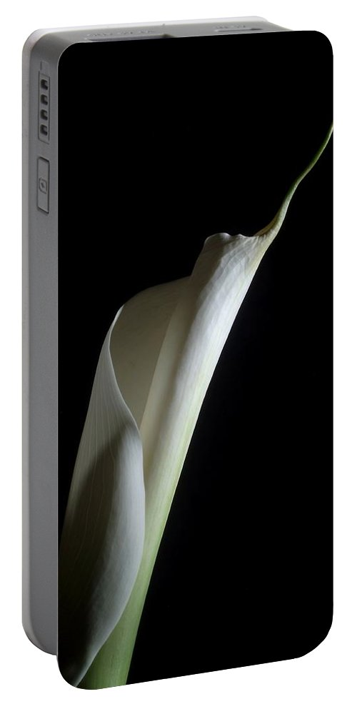 Flower Portable Battery Charger featuring the photograph Lily 2 by Joe Kozlowski