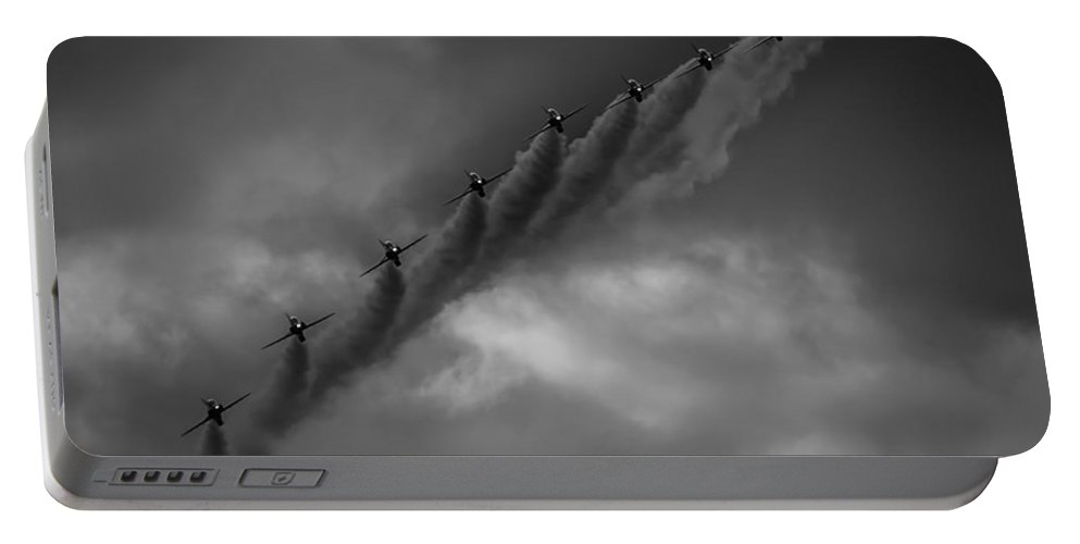 Bae Portable Battery Charger featuring the photograph Line Abreast by Gareth Burge Photography
