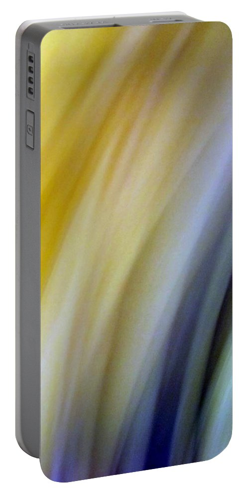 Amusement Portable Battery Charger featuring the photograph Lines And Colors - Amusement by Munir Alawi
