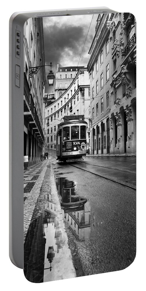 Lisbon Portable Battery Charger featuring the photograph Lisbon by Jorge Maia