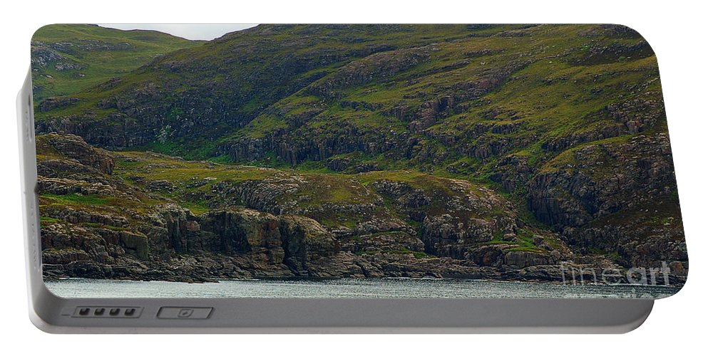 Coast Portable Battery Charger featuring the photograph Lonely Coast 1 by Nancy L Marshall
