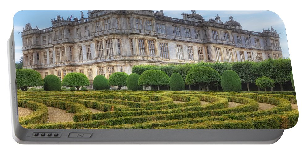 Longleat House Portable Battery Charger featuring the photograph Longleat House - Wiltshire by Joana Kruse