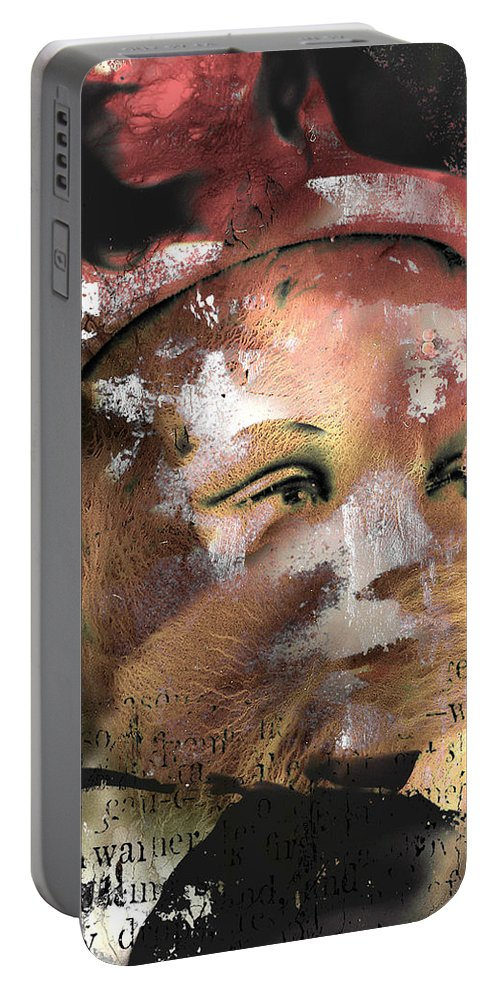 Abstract Art Portable Battery Charger featuring the photograph Look Beyond Love by The Artist Project