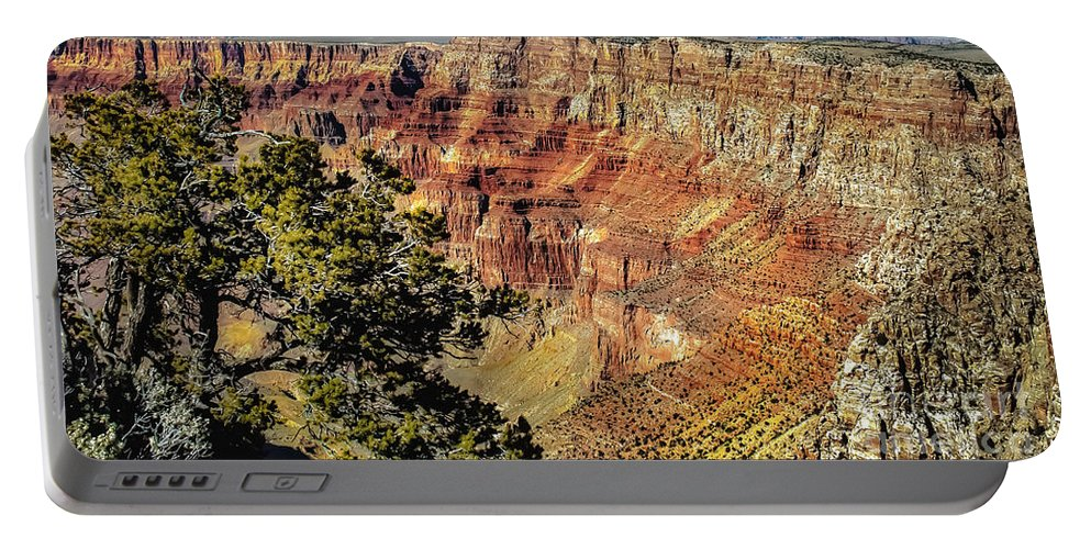 Grand Canyon Portable Battery Charger featuring the photograph Looking Into The South Rim by Robert Bales