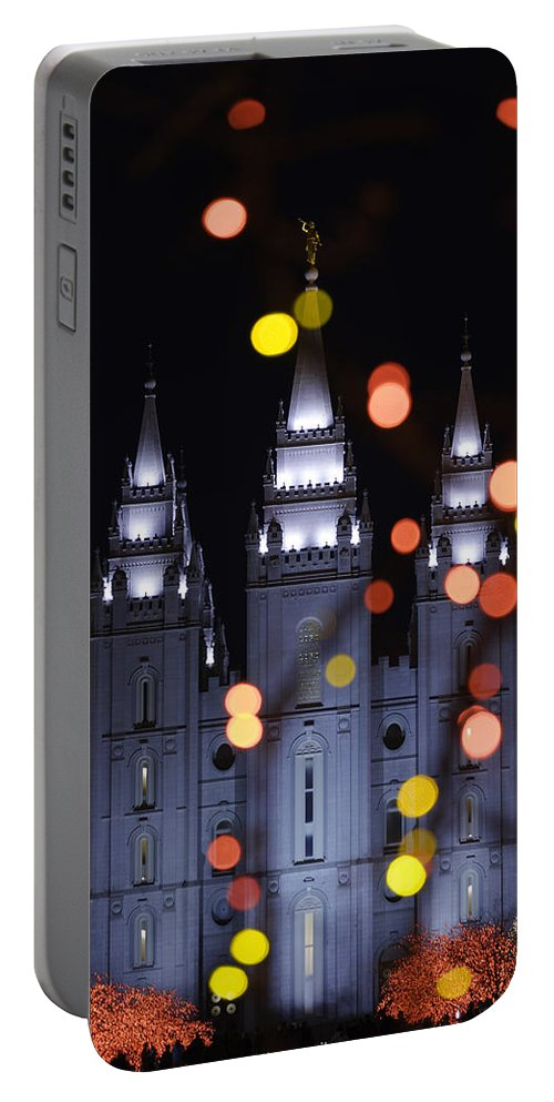 Looking Through Light Portable Battery Charger featuring the photograph Looking Through Light by Chad Dutson