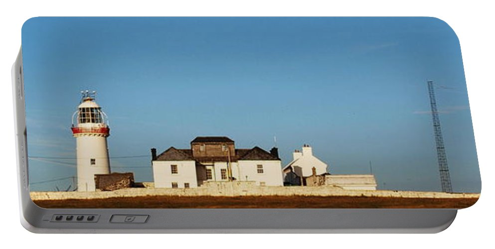 Loop Portable Battery Charger featuring the photograph Loop Head Lighthouse Nfs by Eamonn Hogan