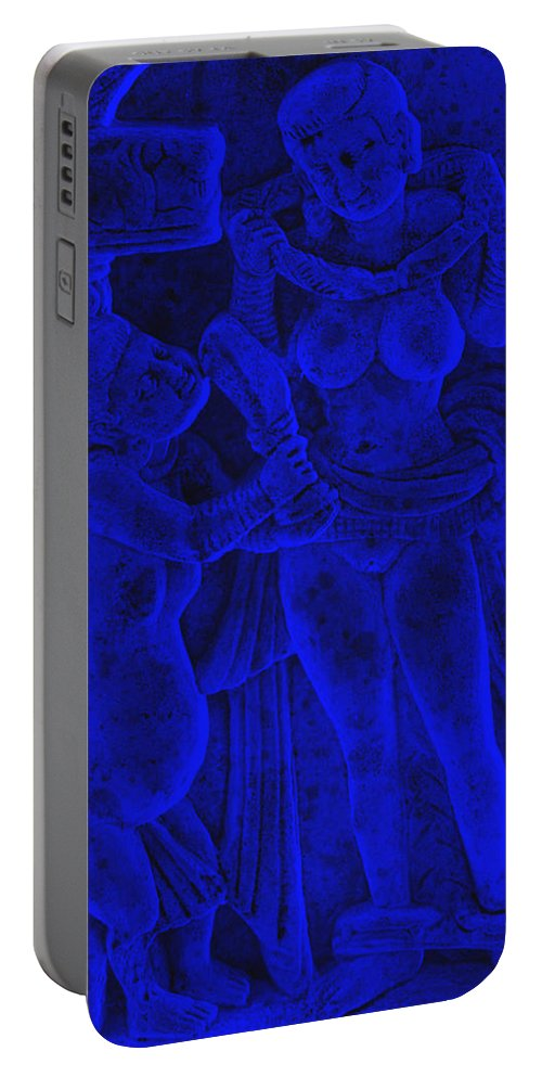India Portable Battery Charger featuring the digital art Love by Bliss Of Art