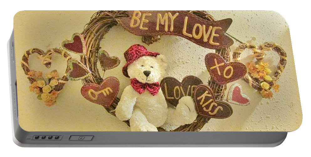 Love Be My Love Portable Battery Charger featuring the photograph Love Be My Love by Don Baker