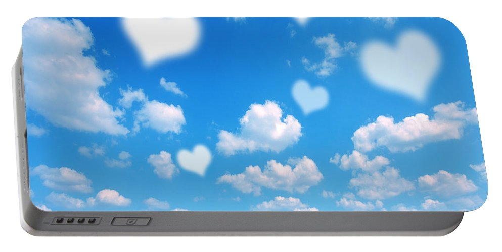 Background Portable Battery Charger featuring the photograph Love Nature Background by Michal Bednarek