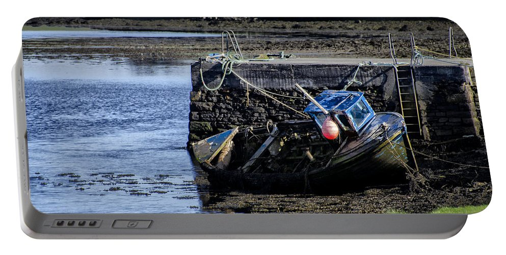 Low Portable Battery Charger featuring the photograph Low Tide Donegal Ireland by Bill Cannon