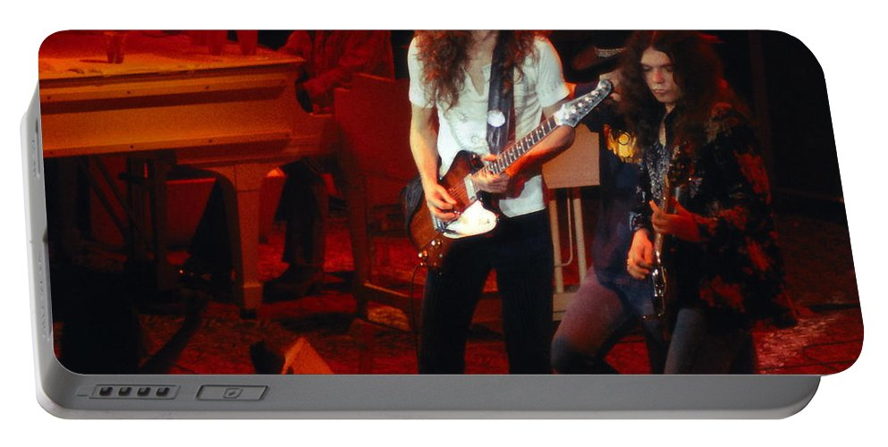 Lynyrd Skynyrd Portable Battery Charger featuring the photograph Ls #9 by Ben Upham