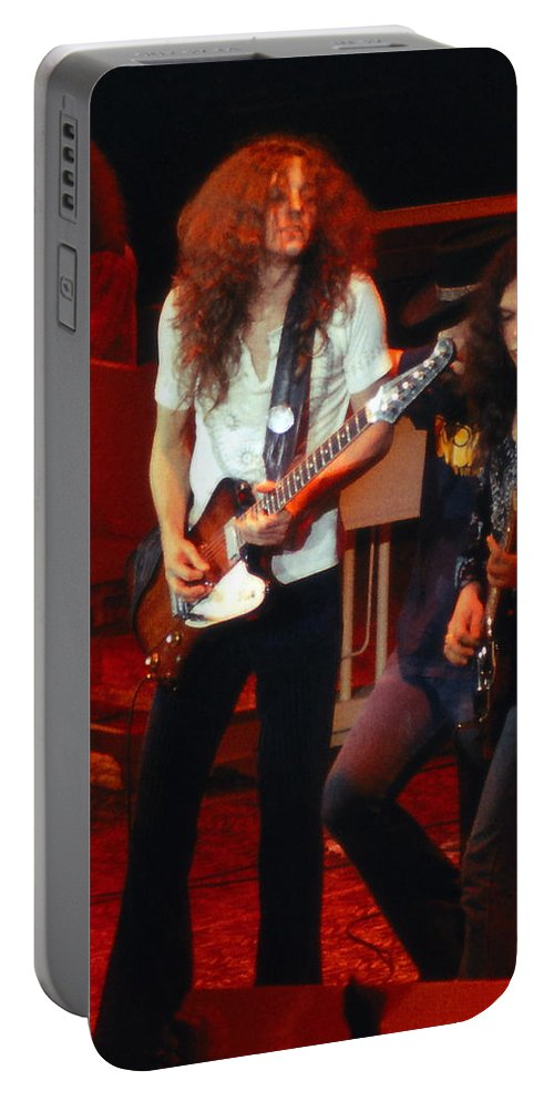 Lynyrd Skynyrd Portable Battery Charger featuring the photograph Ls #9 Crop 2 by Ben Upham
