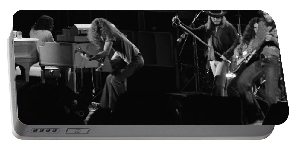Lynyrd Skynyrd Portable Battery Charger featuring the photograph Ls Spo #20 by Ben Upham